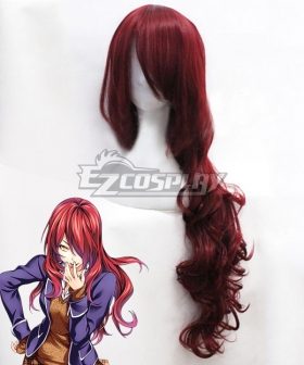 Food Wars Shokugeki no Soma Ni no Sara 90th Totsuki Generation Rindo Kobayashi Red Cosplay Wig