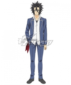 Food Wars Shokugeki No Soma Ryō Kurokiba Kurokiba Ryou School Uniform Cosplay Costume - A Edition