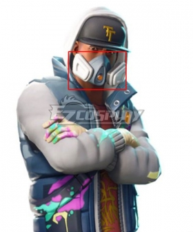 Fortnite Battle Royale Abstract Mask Cosplay Accessory Prop