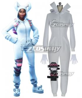 Fortnite Battle Royale Bunny Brawler Cosplay Costume