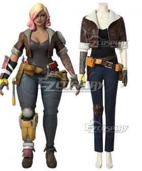 Fortnite Battle Royale Female Constructor Cosplay Costume
