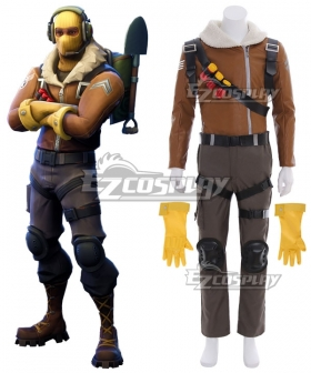 Fortnite Battle Royale Raptor Cosplay Costume