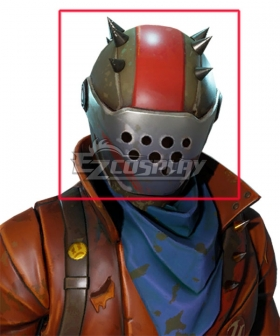 Fortnite Battle Royale Rust Lord Helmet Cosplay Accessory Prop