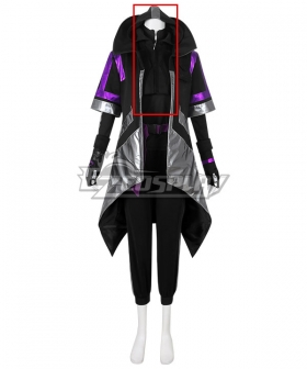 Fortnite Battle Royale Season 10 Catalyst Overcharged Style Cosplay Costume