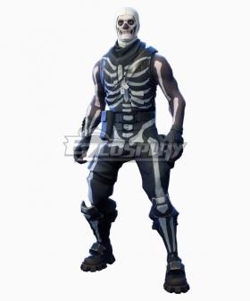 Fortnite Battle Royale Skull Trooper Cosplay Costume