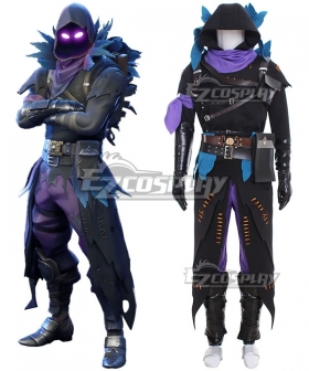 Fortnite Battle Royale Raven Halloween Cosplay Costume