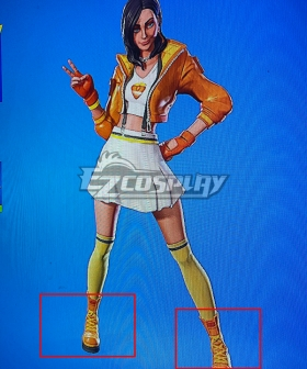 Fortnite Rox Golden Shoes Cosplay Boots