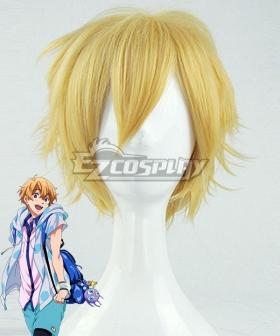 Free! Hazuki Nagisa Golden Cosplay Wig