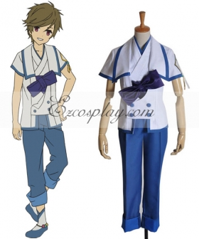 From the New World Satoru Boy Uniform Cosplay Costume