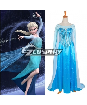 Frozen Elsa Disney Dress Cosplay Costume - Standard Ver.