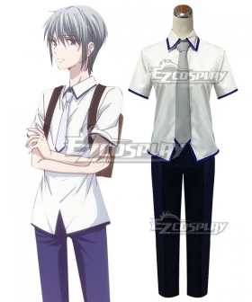 Fruits Basket 2019 Yuki Soma Cosplay Costume