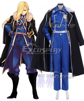 Fullmetal Alchemist Olivier Mira Armstrong Cosplay Costume