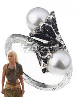 Game Of Thrones Daenerys Targaryen Ring Cosplay Accessory Prop