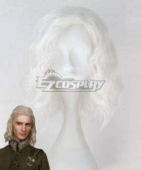 Game of Thrones Viserys Targaryen White Cosplay Wig