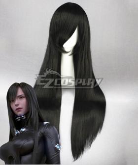 GANTZ Reika Shimohira Black Cosplay Wig