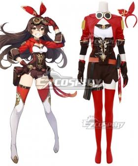 Genshin Impact Amber Cosplay Costume