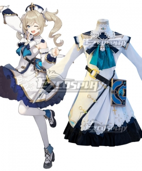Genshin Impact Barbara Cosplay Costume
