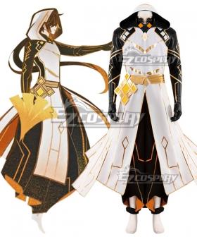 Genshin Impact Morax Zhongli Cosplay Costume