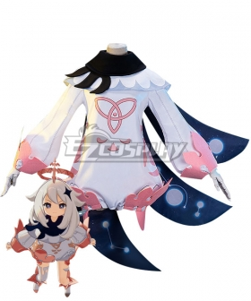 Genshin Impact Paimon Cosplay Costume A Edition