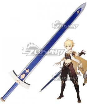 Genshin Impact Player Male Traveler Sword Cosplay Weapon Prop