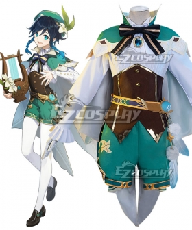 Genshin Impact Venti Cosplay Costume