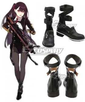 Girls' Frontline WA2000 Black Cosplay Shoes