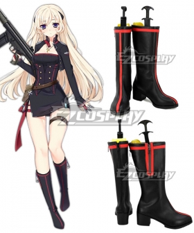 Girls' Frontline G3 Black Cosplay Shoes