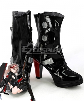 Girls Frontline M1887 WinchesterModel Black Shoes Cosplay Boots
