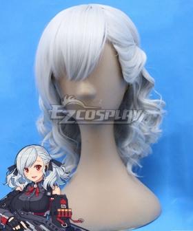 Girls' Frontline SPAS-12 Silver Cosplay Wig