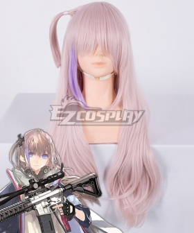 Girls Frontline ST-AR15 Pink Purple Cosplay Wig