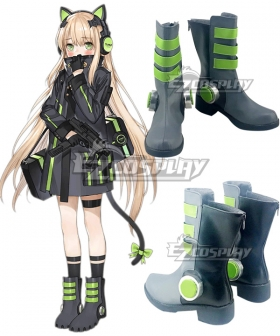 Girls Frontline TMP Grey Shoes Cosplay Boots