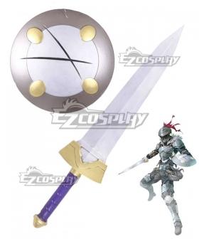 Goblin Slayer Goblin Slayer Sword Shield Cosplay Weapon Prop
