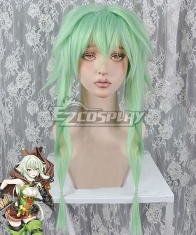 Goblin Slayer High Elf Archer Green Cosplay Wig