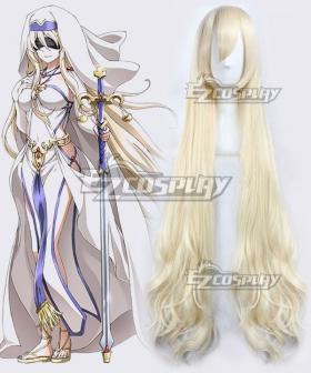 Goblin Slayer Sword Maiden Light Golden Cosplay Wig