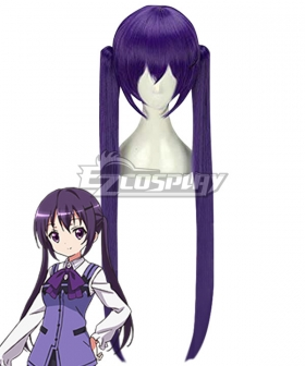 Gochuumon wa Usagi Desu ka? Is the Order a Rabbit? Rize Tedeza Purple Cosplay Wig