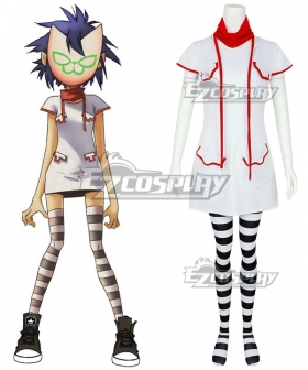 Gorillaz Noodle Cosplay Costume - No Mask
