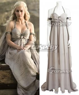 Game of Thrones Mother of Dragons Daenerys Targaryen Cosplay Costume