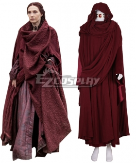 Game of Thrones Melisandre Cosplay Costume - Premium Edition