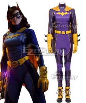 PS5 DC Gotham Knight Batgirl  Barbara Gordon Cosplay Costume