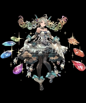 Granblue Fantasy De La Fille Cosplay Costume