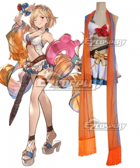 Granblue Fantasy Djeeta Swimsuit Cosplay Costume