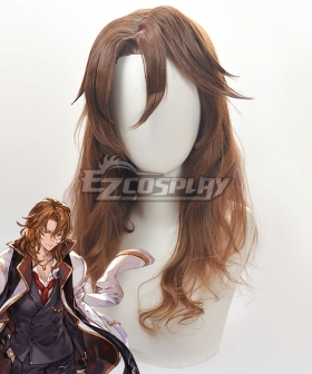 Granblue Fantasy Siegfried Brown Cosplay Wig