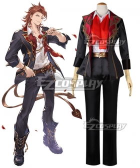 Granblue Fantasy The Dragon Knight Percival Cosplay Costume
