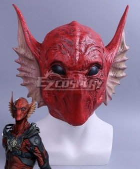Marvel Guardians of the Galaxy Vol. 2 Krugarr Mask Cosplay Accessory Prop