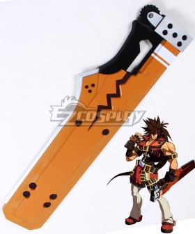 Guilty Gear Xrd Sol Badguy Sword Cosplay Weapon Prop