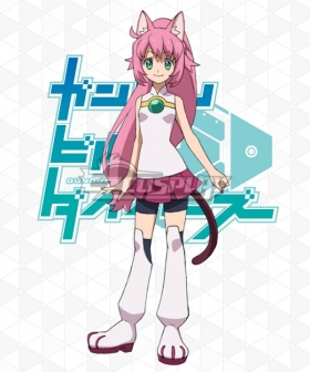 Gundam Build Divers Momoka Yashiro Momo Cosplay Costume