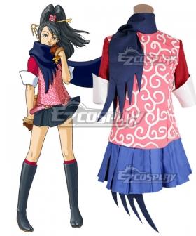 Gyakuten Kenji 2 Ace Attorney Kay Faraday Cosplay Costume