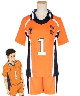 Haikyuu!! Season 4 Haikyuu!!: To the Top Daichi Sawamura New Uniform Cosplay Costume
