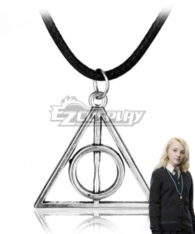 Harry Potter and the Deathly Hallows Luna Lovegood Necklace Cosplay Accessory Prop