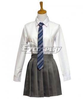 Harry Potter Female Slytherin Robe School Uniform Halloween Cosplay Costume - Starter Edition